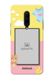 OnePlus 7 Pro Back Covers: Kids 2 Color Design