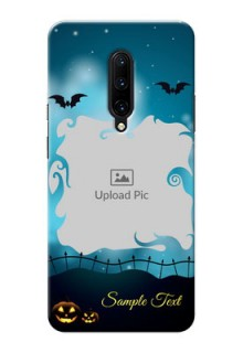 OnePlus 7 Pro Personalised Phone Cases: Halloween frame design