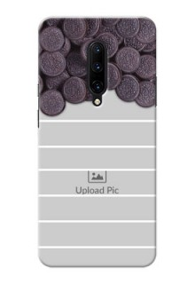 OnePlus 7 Pro Custom Mobile Covers with Oreo Biscuit Design