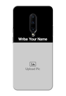 One Plus 7 Pro Photo with Name on Phone Case