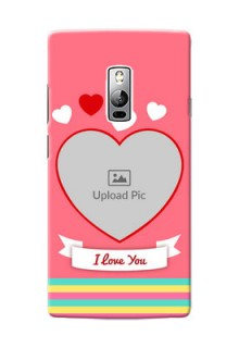 OnePlus 2 I Love You Mobile Cover Design