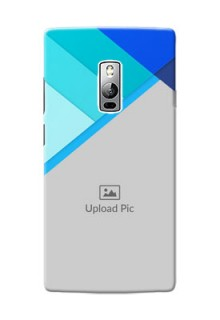 OnePlus 2 Blue Abstract Mobile Cover Design