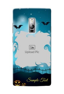 OnePlus 2 halloween design with designer frame Design