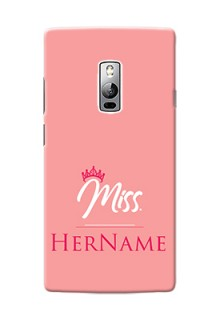 Oneplus 2 Custom Phone Case Mrs with Name