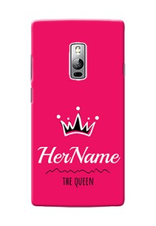 Oneplus 2 Queen Phone Case with Name