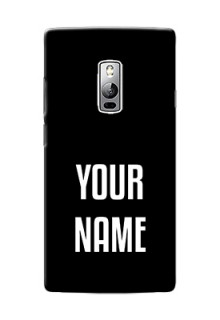 Oneplus 2 Your Name on Phone Case