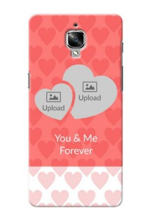 OnePlus 3 Couples Picture Upload Mobile Cover Design