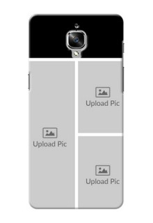 OnePlus 3 Multiple Picture Upload Mobile Cover Design