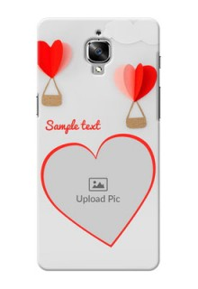 OnePlus 3 Love Abstract Mobile Case Design