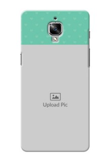 OnePlus 3 Lovers Picture Upload Mobile Cover Design