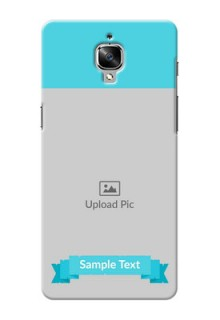 OnePlus 3 Simple Mobile Back Cover Design