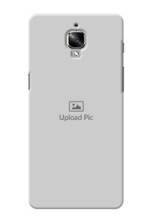 OnePlus 3 Full Picture Upload Mobile Back Cover Design