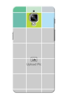 OnePlus 3T white boxes pattern Design Design