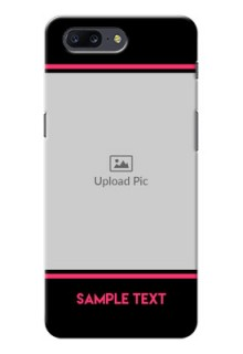 OnePlus 5 Photo With Text Mobile Case Design