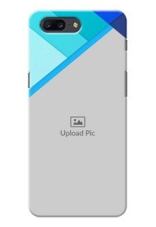 OnePlus 5 Blue Abstract Mobile Cover Design