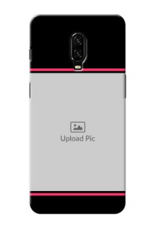 Oneplus 6T Mobile Covers With Add Text Design