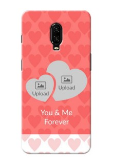 Oneplus 6T personalized phone covers: Couple Pic Upload Design