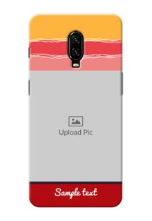 Oneplus 6T custom mobile phone covers: Colorful Case Design
