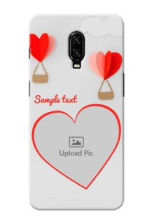 Oneplus 6T Phone Covers: Parachute Love Design