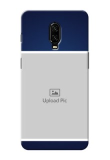 Oneplus 6T Mobile Cases: Simple Royal Blue Design