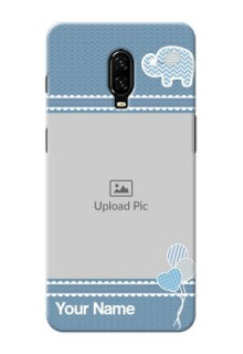 Oneplus 6T Custom Phone Covers with Kids Pattern Design