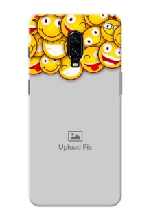 Oneplus 6T Custom Phone Cases with Smiley Emoji Design