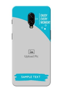 Oneplus 6T Personalized Phone Covers: Happy Moment Design