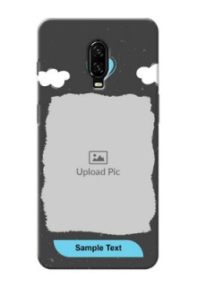 Oneplus 6T Mobile Back Covers: splashes with love doodles Design