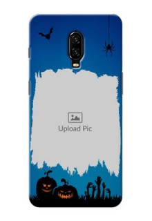 Oneplus 6T mobile cases online with pro Halloween design