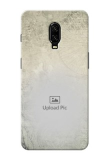 Oneplus 6T custom mobile back covers with vintage design