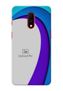 Oneplus 7 custom back covers: Simple Pattern Design