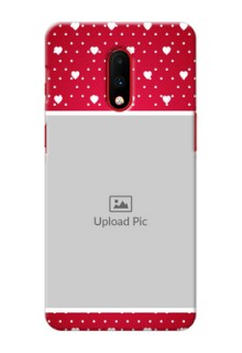 Oneplus 7 custom back covers: Hearts Mobile Case Design