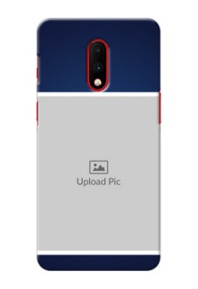 Oneplus 7 Mobile Cases: Simple Royal Blue Design