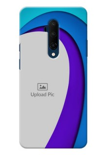 Oneplus 7T Pro custom back covers: Simple Pattern Design