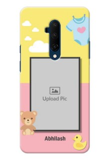 Oneplus 7T Pro Back Covers: Kids 2 Color Design
