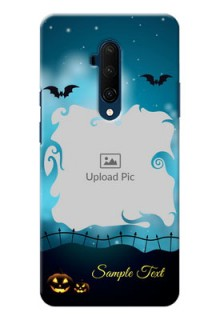 Oneplus 7T Pro Personalised Phone Cases: Halloween frame design