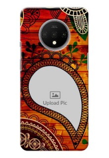 Oneplus 7T custom mobile cases: Abstract Colorful Design