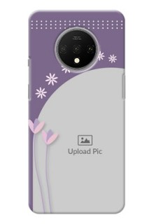 Oneplus 7T Phone covers for girls: lavender flowers design