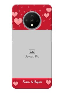 Oneplus 7T Mobile Back Covers: Valentines Day Design