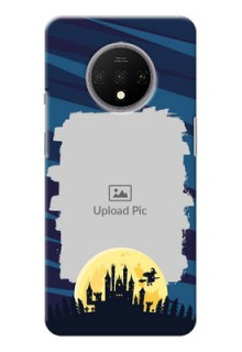 Oneplus 7T Back Covers: Halloween Witch Design