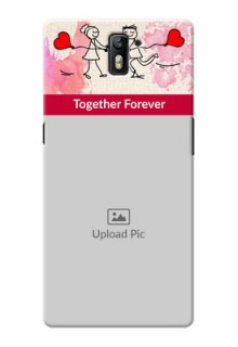 OnePlus One Just You And Me Mobile Back Case Design