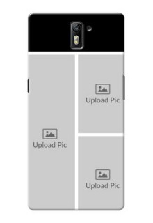 OnePlus One Multiple Picture Upload Mobile Cover Design
