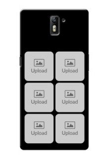 OnePlus One Multiple Pictures Mobile Back Case Design