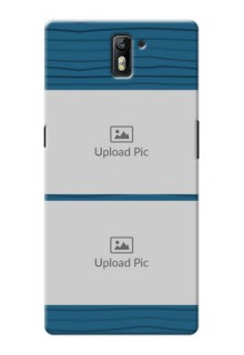 OnePlus One Blue Pattern Mobile Case Design