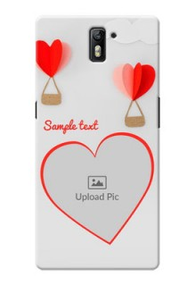 OnePlus One Love Abstract Mobile Case Design