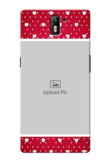 OnePlus One Beautiful Hearts Mobile Case Design
