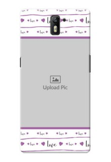 OnePlus One Couples Mobile Case Design