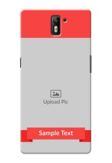 OnePlus One Simple Mobile Case Design