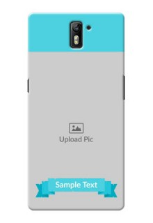 OnePlus One Simple Mobile Back Cover Design