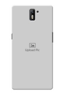 OnePlus One Full Picture Upload Mobile Back Cover Design